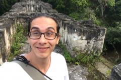Temple walk Tikal